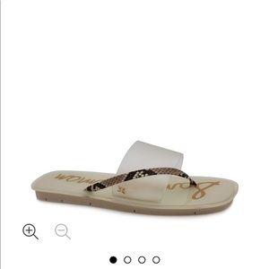 Sam Edelman women's Luciana thong Slide sandals
